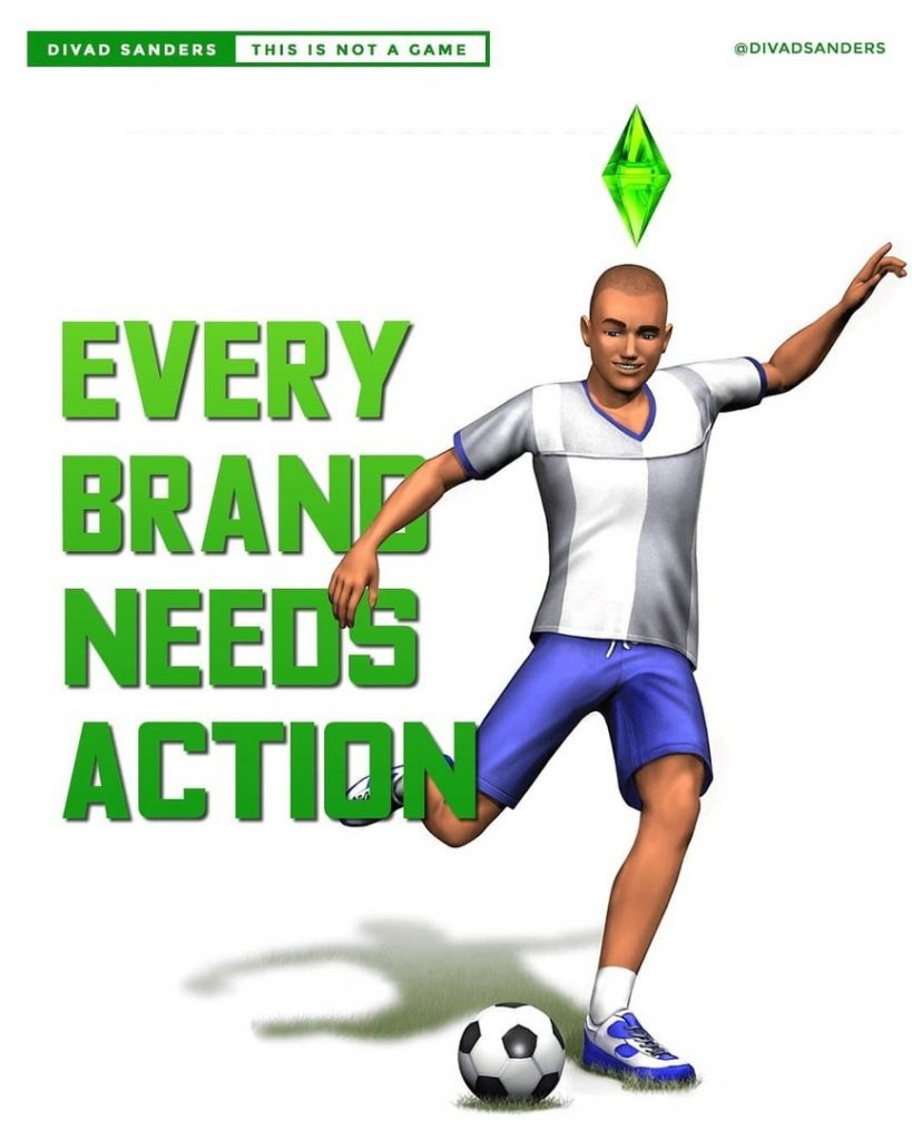 Every brand needs action