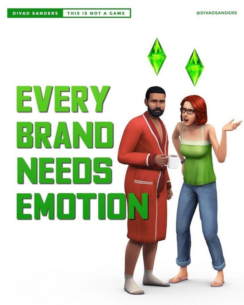 Every brand needs emotion