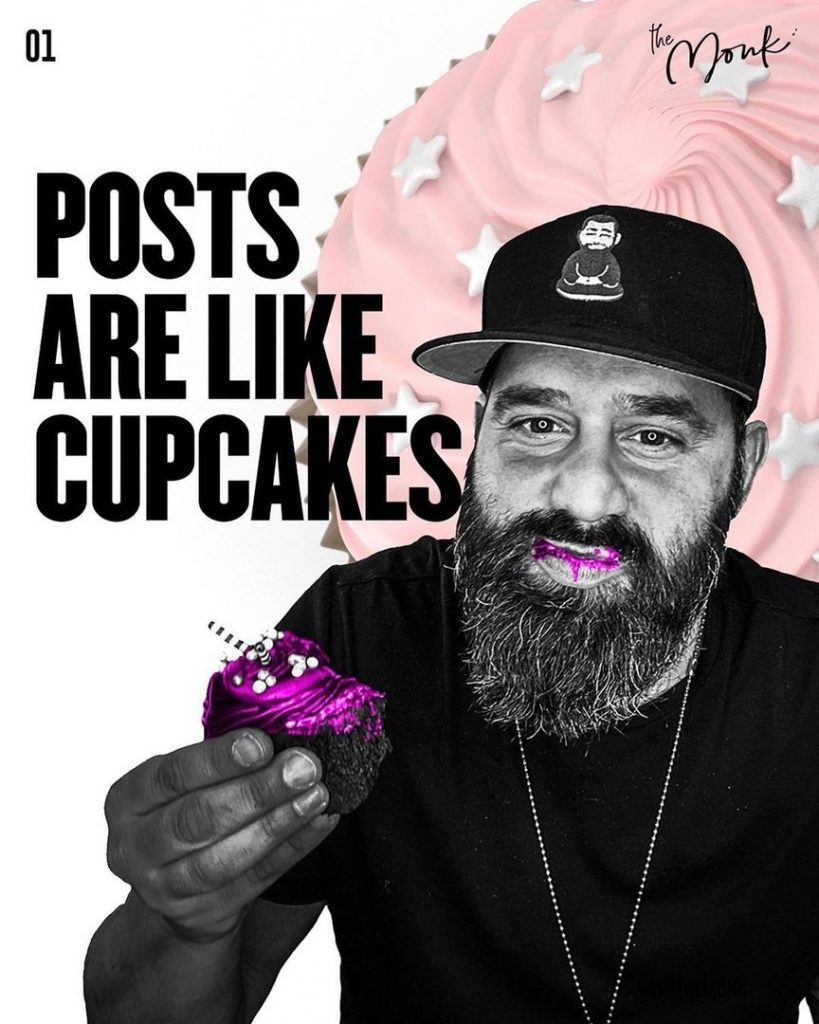 Posts are like cupcakes