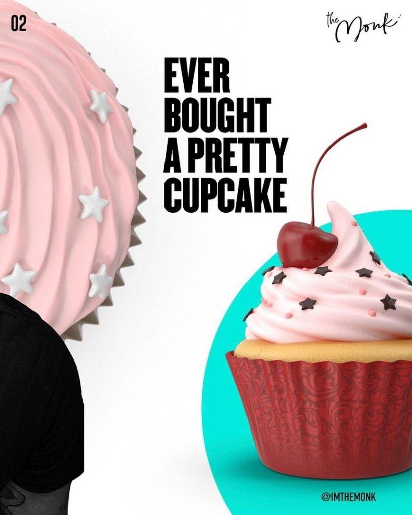 Ever Bought A Pretty cupcake