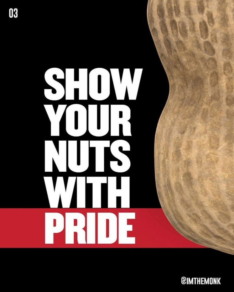 Show your nuts with pride