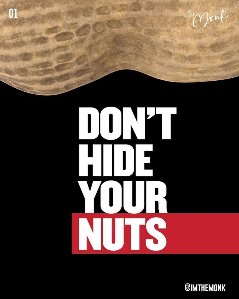 Don't Hide Your Nuts