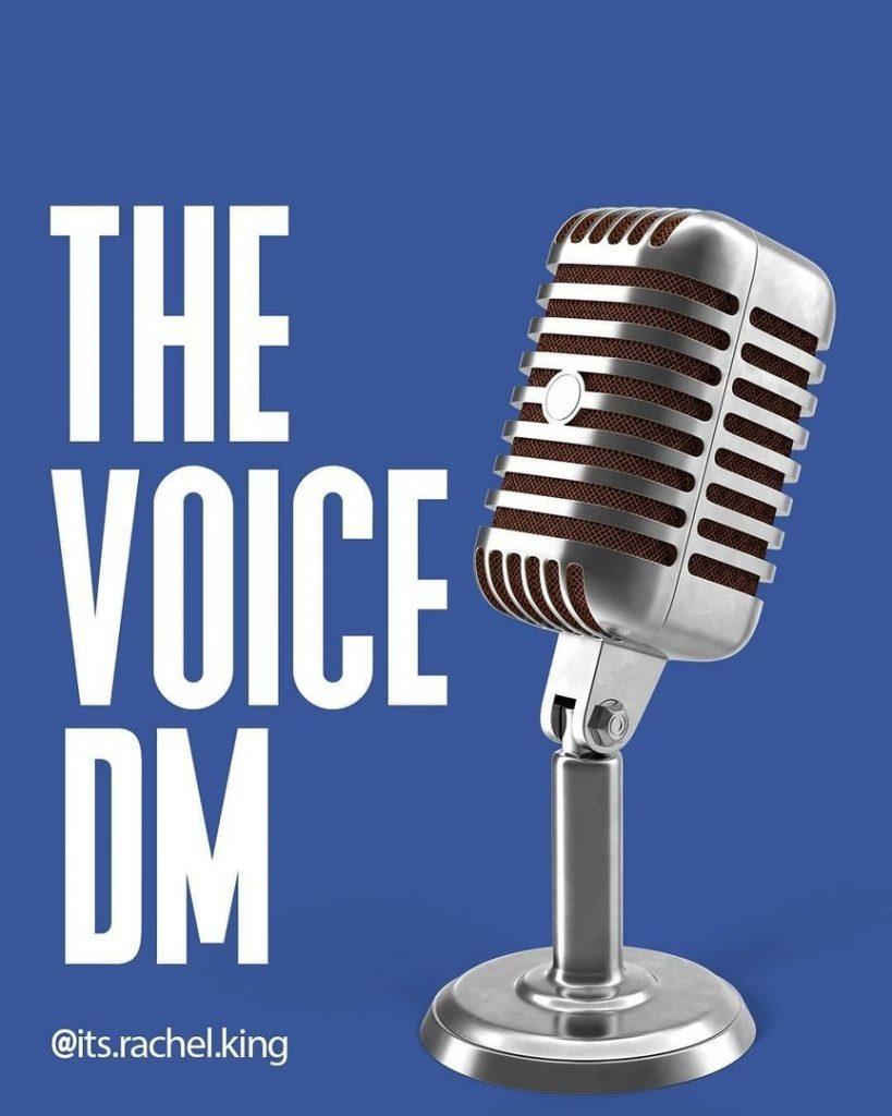 The voice dm