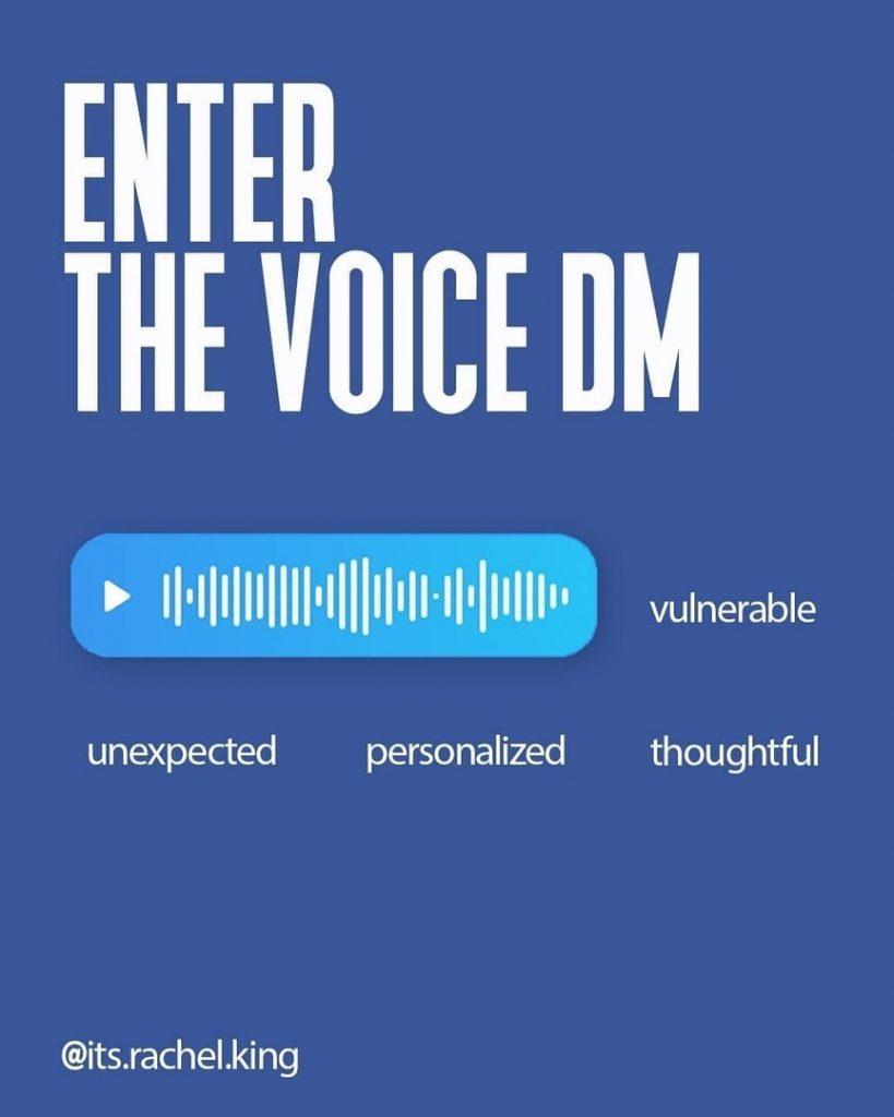 Enter the voice DM