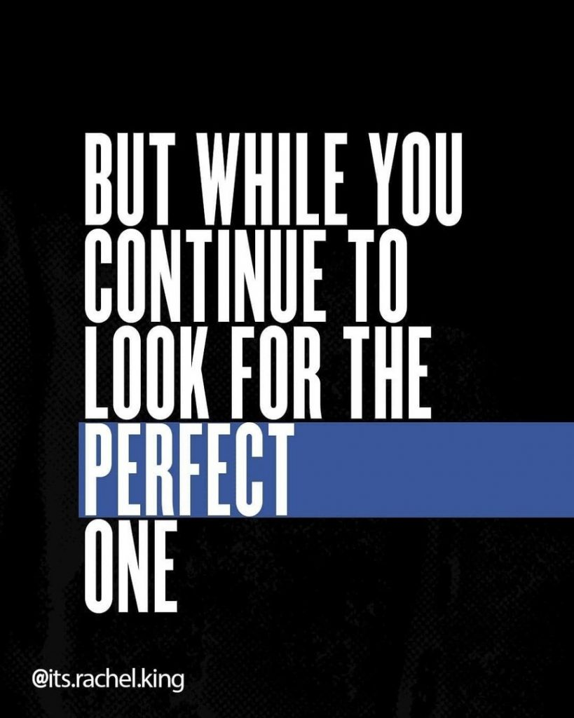 But while you continue to look for the perfect one