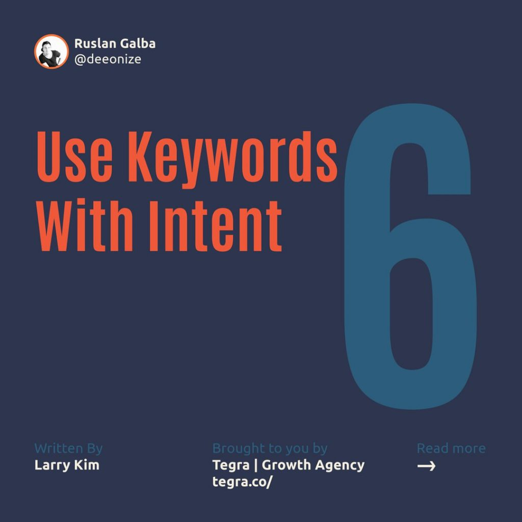 6️⃣ Use Keywords With Intent  Words are so incredibly important, especially when search is a big part of the equation. Using the right keywords in your profile is the difference between being found and being invisible.